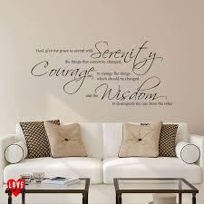 the serenity prayer wall art sticker the serenity prayer quote wall art sticker