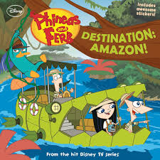 phineas and ferb destination amazon phineas and ferb wiki fandom powered by wikia