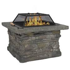 Wood Firepit Wood Pits Best Choice Products