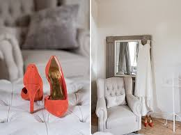 Red Barn Shoes Joanna And William U0027s Coral Gold And Navy Barn Wedding By Fiona