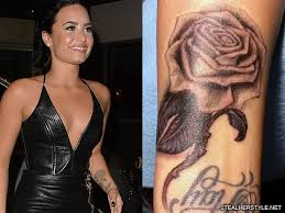 Tato Meme - demi lovato s tattoos meanings steal her style