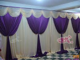 Wedding Backdrop Outlet Discount Purple Wedding Backdrop Curtain 2017 Purple Wedding