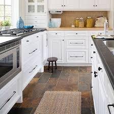 kitchen cabinet colors that hide dirt fresh ideas for kitchen floors slate kitchen slate floor