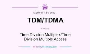 Multiplex Definition What Does Tdm Tdma Mean Definition Of Tdm Tdma Tdm Tdma