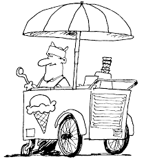 ice cream coloring pages coloringmates clip art library