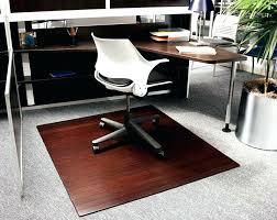 plastic floor cover for desk chair hardwood floor protector bamboo floor mat office bamboo office chair