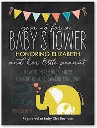peanut 4x5 gender neutral baby shower invitations shutterfly