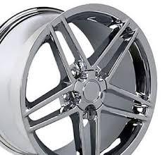 corvette c6 wheels for sale 18x9 5 19x10 chrome corvette c6 z06 style wheels set of 4 rims fit