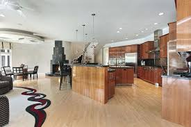 Unfinished Wood Kitchen Island Gray Tiles Kitchen Flooring Recessed Light Eat In Kitchen Design