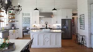 joanna gaines farmhouse kitchen with cabinets joanna gaines reveals the favorite part of kitchen