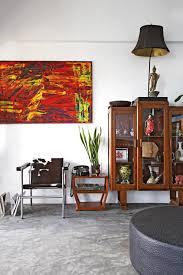 Orange Home And Decor Working Vintage Furniture Into Modern Decor Home U0026 Decor Singapore