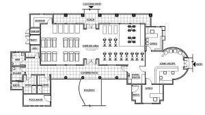 fitness center floor plan design images on fitness center design