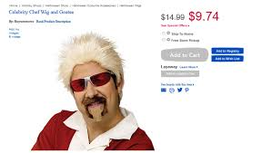 Halloween Costumes Toys Toys Selling Unlicensed Guy Fieri Halloween Costume