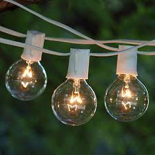 glass garden string lights ebay