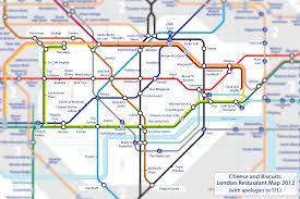 underground map zones restaurant map food