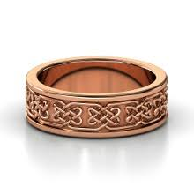 Rose Gold Wedding Ring by Rose Gold Engagement Rings And Wedding Bands The Handy Guide