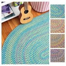 Chenille Braided Rug Chenille Round Oval U0026 Square Area Rugs Shop The Best Deals For