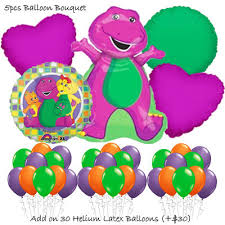 barney birthday theme balloon package party wholesale