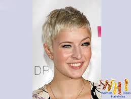 very short haircuts for women with fine hair short gray hair