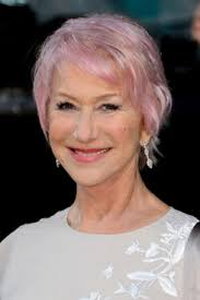 judi dench hairstyle front and back of head helen mirren dyed her hair pink