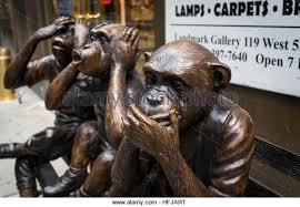 Monkey Bench Three Monkeys Hear Speak No Stock Photos U0026 Three Monkeys Hear