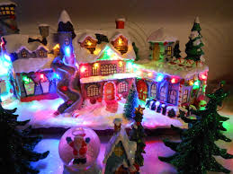 mini lights for christmas village file miniature christmas village birkenhead 1 jpg wikimedia commons