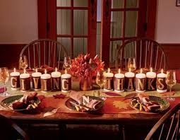 thanksgiving table decorating ideas knows