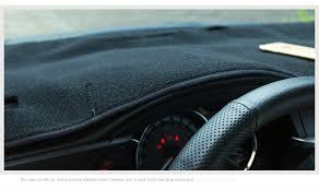 toyota corolla dash mat car dashboard avoid light pad instrument platform desk plush cover