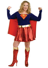 Ladies Size Halloween Costumes Size Supergirl Costume