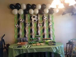 soccer party ideas soccer decor idea soccer party table decor and mini soccer balls in