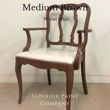 Wood Stain Medium Stain Water Based by Saman Water Based Stain 4oz U2013 Superior Paint Co