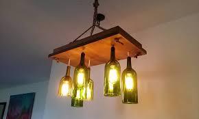 Wine Bottle Light Fixtures with Chandelier Crystal Chandelier Bottle Chandelier Wine Glass Light