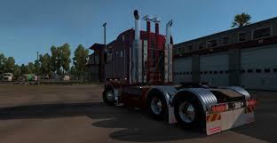 kenworth 18 wheeler kenworth k200 v12 truck american truck simulator mod ats mod