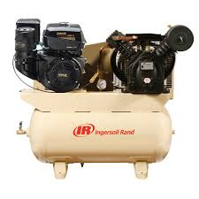 gas drive air compressor 14hp kohler engine ingersoll rand