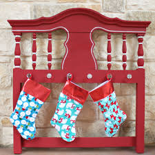 make retro inspired christmas stockings in minutes fairfield