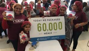 more than 500 ismaili muslims donate 80 000 thanksgiving meals to