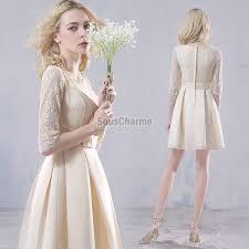 robe pas cher pour un mariage chic robe demoiselle d honneur pas cher chagne courte pour