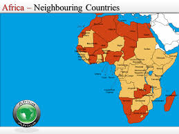 africa map interactive africa map editable africa map outline
