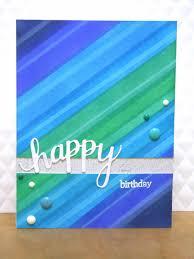 handmade by michelle masculine birthday card