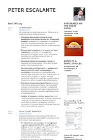 Hr Consultant Resume Sample by Hr Manager Resume Samples Visualcv Resume Samples Database
