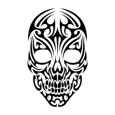 tattoo skulls tribal tattoos design ideas clip art library