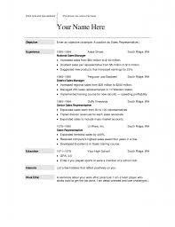 Sales Job Resume Job Resume Free Download Resume For Your Job Application