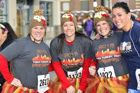 best turkey trots and thanksgiving day road races near me ymca