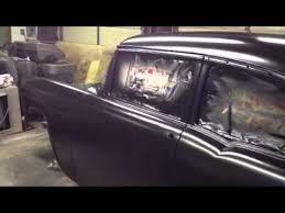 55 chevy belair rustoleum satin black video2 youtube