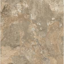 Groutable Vinyl Floor Tiles by Shop Armstrong Crescendo 1 Piece 12 In X 12 In Groutable Stone