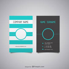 free business card layout vector free vector business cards