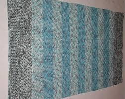 turquoise rug etsy
