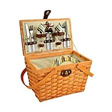 picnic basket for 2 picnic baskets weekend wine bags and insulated backpacks bed