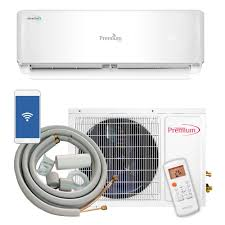 premium 12 000 btu 1 ton ductless mini split air conditioner