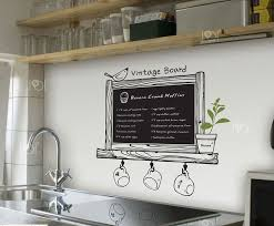 Wall Stickers For Kitchen by Vinyl Chalkboard Wall Stickers Wallpaper Kitchen Chalk Board Decal